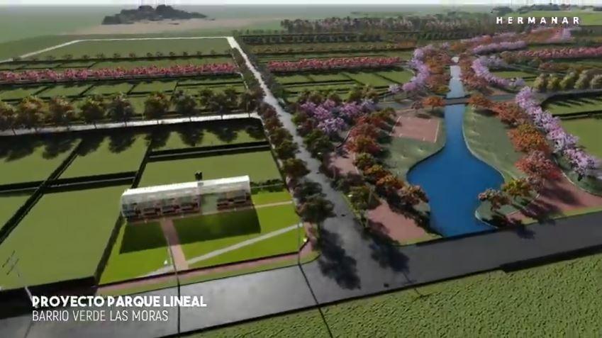 Parque lineal reserva natural